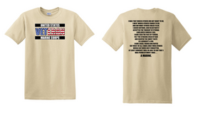 US Marine Corps Veteran Cotton T-Shirt -Marine-(FF)