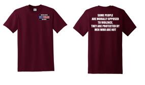 US Air Force Veteran Cotton T-Shirt -Morally-(P)