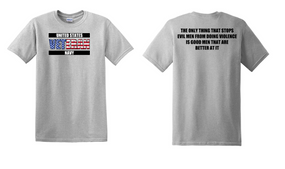 US Navy Veteran Cotton T-Shirt -Evil-(FF)