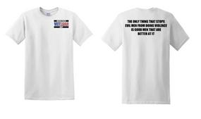 US Navy Veteran Cotton T-Shirt -Evil-(P)