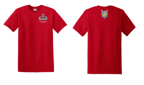 1-17th Cavalry (Crest) US Army Jumpmaster Cotton Shirt