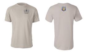 1-17th Cavalry (Crest) Senior Paratrooper Moisture Wick Shirt