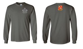 319th Airborne Field Artillery Regiment Master Blaster Long-Sleeve Cotton Shirt