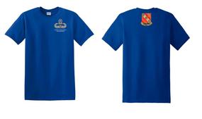 319th Airborne Field Artillery Master Paratrooper Cotton Shirt