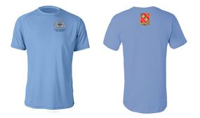 319th Airborne Field Artillery Master Paratrooper Moisture Wick Shirt