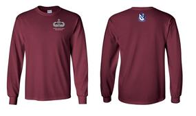 507th Parachute Infantry Regiment Senior Paratrooper Long-Sleeve Cotton Shirt