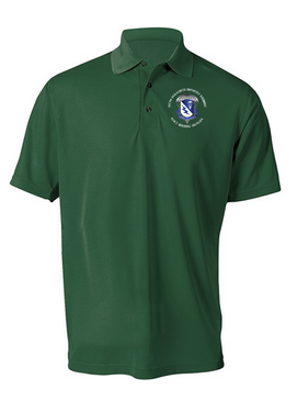 507th Parachute Infantry Regiment Embroidered Moisture Wick Polo (C)