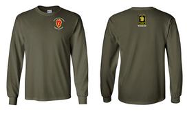 27th Infantry Regiment  LS Cotton Shirt (P)