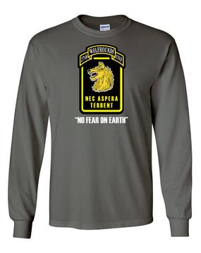 27th Infantry Regiment Wolfhounds LS  Cotton Shirt (FF)