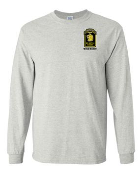 27th Infantry Regiment Wolfhounds LS  Cotton Shirt (P)