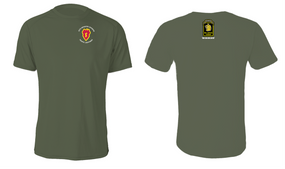 """25th Infantry Division """"Wolfhounds"""" Cotton Shirt"""
