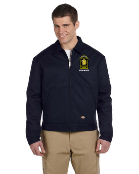 Wolfhounds Embroidered Dickies 8 oz. Lined Eisenhower Jacket