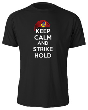 "1/504th Parachute Infantry Regiment ""Keep Calm"" Cotton Shirt"