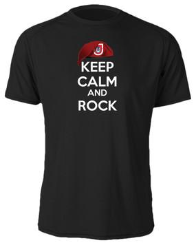 "1/503rd Parachute Infantry Regiment  ""Keep Calm"" Cotton Shirt"