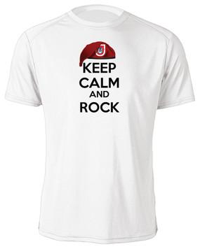 """1/503rd Parachute Infantry Regiment  """"Keep Calm"""" Moisture Wick T-Shirt"""