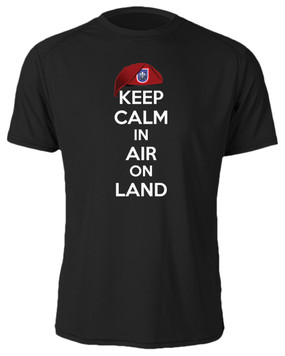 "82nd Headquarters & Headquarters Battalion ""Keep Calm"" Cotton Shirt"