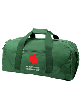 6th Infantry Division Embroidered Duffel Bag