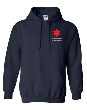 6th Infantry Division Embroidered Hooded Sweatshirt