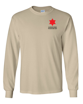 6th Infantry Division Long-Sleeve Cotton T-Shirt  (P)