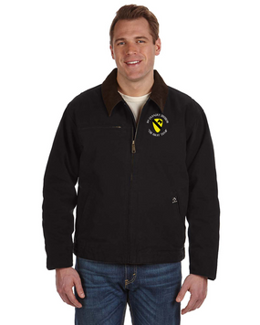 1st Cavalry Division Embroidered DRI-DUCK Outlaw Jacket