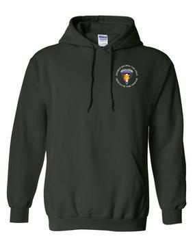 Southern European Task Force SETAF Embroidered Hooded Sweatshirt