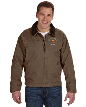 3rd Armored Division Embroidered DRI-DUCK Outlaw Jacket