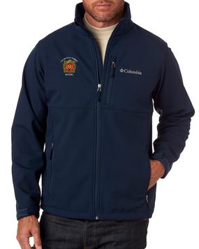 "9th Infantry Regiment ""MANCHUS"" Embroidered Columbia Ascender Soft Shell Jacket"