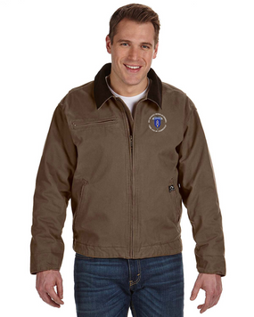 8th Infantry Division Airborne Embroidered DRI-DUCK Outlaw Jacket