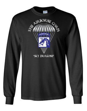 18th Airborne Corps Long-Sleeve Cotton T-Shirt  (FF)(C)