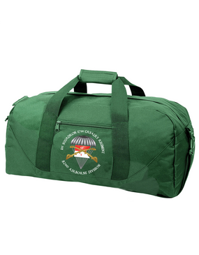 1/17th Cavalry Guidon Embroidered Duffel Bag-M