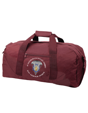 1/17th Cavalry Embroidered Duffel Bag-M