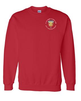 3/4 ADA Embroidered Sweatshirt-M