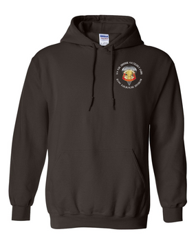 3/4 ADA  Embroidered Hooded Sweatshirt-M