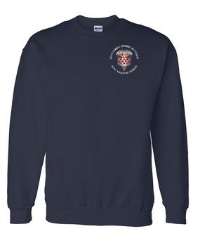 307th Engineers Embroidered Sweatshirt-M