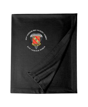 319th Field Artillery Embroidered Dryblend Stadium Blanket-M