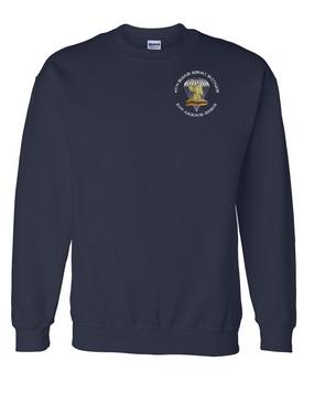 407th Brigade Support Battalion Embroidered Sweatshirt-M