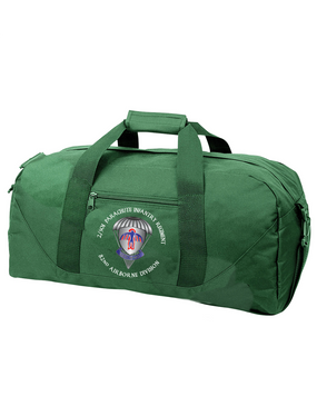 2/501st Embroidered Duffel Bag-M