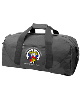 504th Parachute Infantry Regiment Embroidered Duffel Bag-M