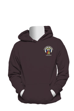 504th Parachute Infantry Regiment Embroidered Hooded Sweatshirt-M