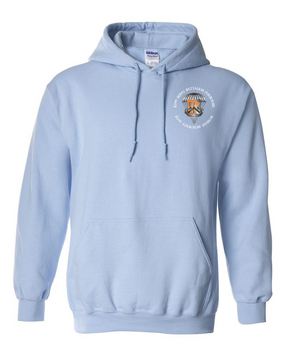 82nd Signal Battalion Embroidered Hooded Sweatshirt-M