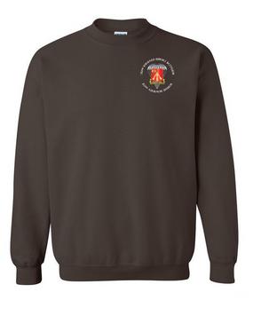 782nd Maintenance Battalion Embroidered Sweatshirt-M