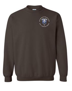 82nd Hqtrs & Hqtrs Battalion Embroidered Sweatshirt-M