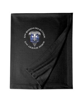 82nd Hqtrs & Hqtrs Battalion Embroidered Dryblend Stadium Blanket-M