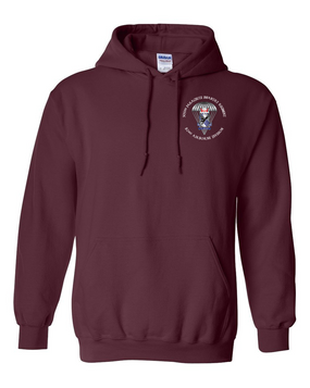 505th Parachute Infantry Regiment (Parachute) Embroidered Hooded Sweatshirt-M