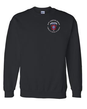 82nd Airborne Division (Para) Embroidered Sweatshirt-M