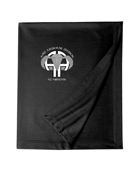 """82nd """"All American"""" Embroidered Dryblend Stadium Blanket-M"""