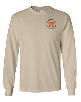 """187th RCT """"Torri""""  Long-Sleeve Cotton T-Shirt"""