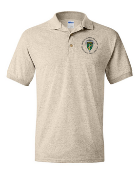 US Army Civil Affairs Embroidered Cotton Polo Shirt