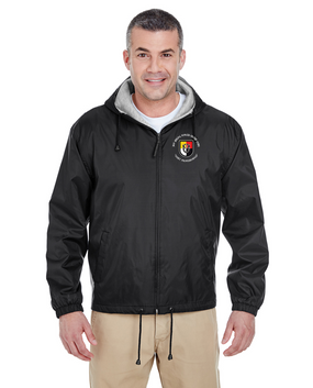 3rd Special Forces Group Embroidered Fleece-Lined Hooded Jacket