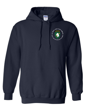 1st Special Operations Command (C) Embroidered Hooded Sweatshirt